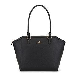 Dámská kabelka, černá, 90-4E-604-1, Obrázek 1