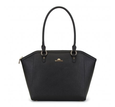 Dámská kabelka, černá, 90-4E-604-0N, Obrázek 1