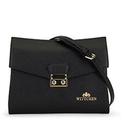 Dámská kabelka, černá, 90-4E-612-1, Obrázek 1