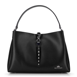 Dámská kabelka, černá, 92-4E-607-10, Obrázek 1