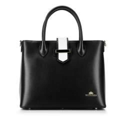Dámská kabelka, černá, 92-4E-609-10, Obrázek 1