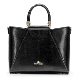 Dámská kabelka, černá, 92-4E-614-1, Obrázek 1