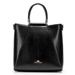 Dámská kabelka, černá, 92-4E-615-1, Obrázek 1