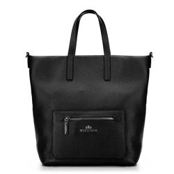 Dámská kabelka, černá, 92-4E-617-1, Obrázek 1