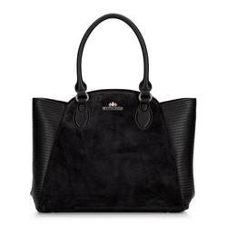 Dámská kabelka, černá, 92-4E-618-1, Obrázek 1