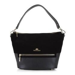Dámská kabelka, černá, 92-4E-619-1, Obrázek 1