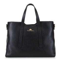 Dámská kabelka, černá, 92-4E-620-1, Obrázek 1