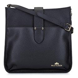 Dámská kabelka, černá, 92-4E-651-1, Obrázek 1