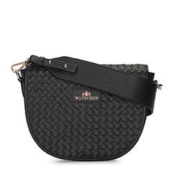 Dámská kabelka, černá, 92-4E-904-1, Obrázek 1