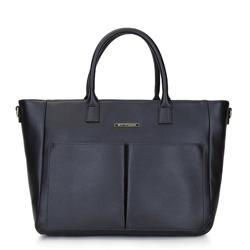 Dámská kabelka, černá, 92-4Y-218-1, Obrázek 1