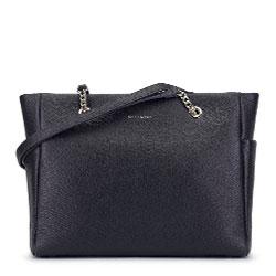 Dámská kabelka, černá, 93-4E-605-1, Obrázek 1