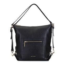 Dámská kabelka, černá, 93-4E-610-1, Obrázek 1