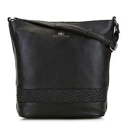 Dámská kabelka, černá, 91-4E-321-1, Obrázek 1