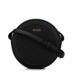 Dámská kulatá kabelka, černá, 92-4Y-302-1, Obrázek 1