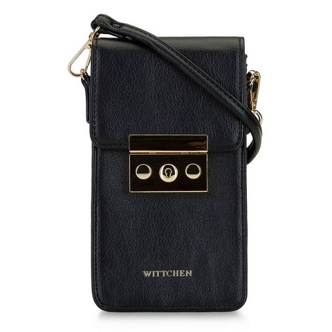 Dámská mini kabelka, černá, 92-2Y-564-Z, Obrázek 1