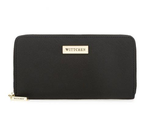 Dámská peněženka, černá, 82-1-403-1R, Obrázek 1