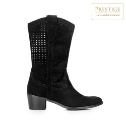 Dámské boty, černá, 92-D-054-1-38, Obrázek 1