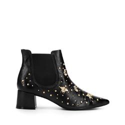 Dámské boty, černá, 93-D-753-1-39, Obrázek 1