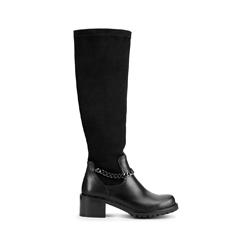 Dámské boty, černá, 93-D-958-1-39, Obrázek 1