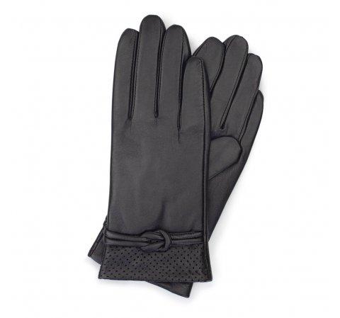 Dámské rukavice, černá, 39-6-569-1-V, Obrázek 1