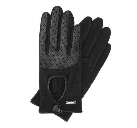 Dámské rukavice, černá, 47-6-303-1-U, Obrázek 1