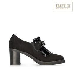Dámské semišové boty, černá, 91-D-106-1-39, Obrázek 1