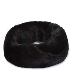Dámská šála, černá, 91-7F-006-1, Obrázek 1