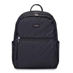 Dámský batoh, černá, 93-4-244-1, Obrázek 1