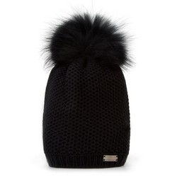 Dámský klobouk, černá, 89-HF-002-1, Obrázek 1