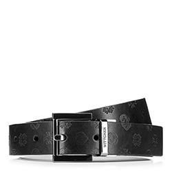 Dámský opasek, černá, 88-8D-300-1-2X, Obrázek 1