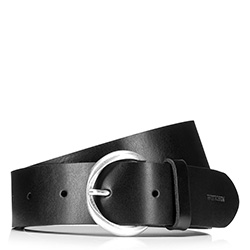 Dámský opasek, černá, 88-8D-302-1-XL, Obrázek 1
