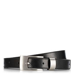 Dámský opasek, černá, 89-8-802-1-U, Obrázek 1