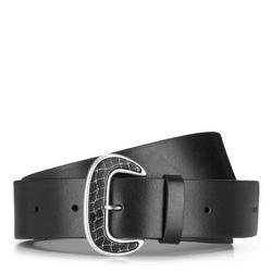 Dámský opasek, černá, 89-8D-301-1-XL, Obrázek 1