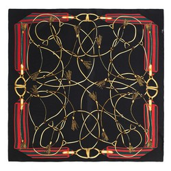 Dámský šátek, černá, 87-7D-S22-X9, Obrázek 1