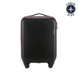 Kabinový cestovní kufr, černá, 56-3A-610-10, Obrázek 1