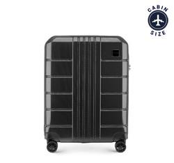 Kabinový cestovní kufr, černá, 56-3P-821-10, Obrázek 1