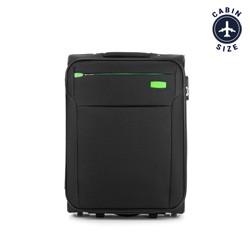 Kabinový cestovní kufr, černá, V25-3S-221-10, Obrázek 1