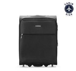 Kabinový cestovní kufr, černá, V25-3S-241-10, Obrázek 1