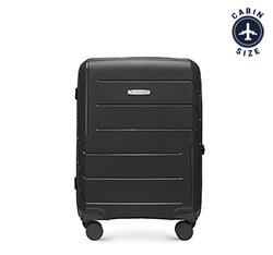 Kabinový kufr, černá, 56-3T-771-1R, Obrázek 1