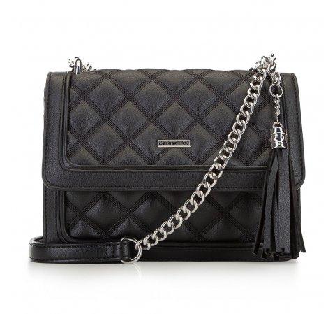 Dámská kabelka, černá, 90-4Y-622-1, Obrázek 1