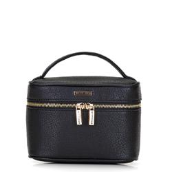 Kosmetická taška, černá, 92-3-107-1, Obrázek 1