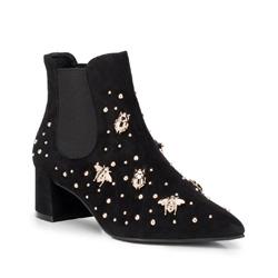Kotníkové boty, černá, 89-D-750-1-37, Obrázek 1