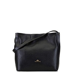 Dámská kabelka, černá, 92-4E-311-1, Obrázek 1