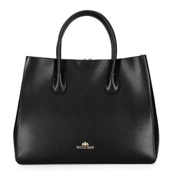Dámská kabelka, černá, 92-4E-606-10, Obrázek 1
