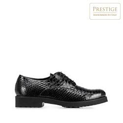 Kožené dámské boty, černá, 91-D-102-1-37_5, Obrázek 1