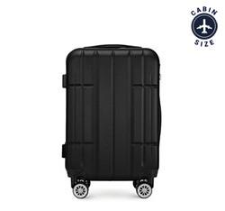 Kabinový cestovní kufr, černá, 56-3A-341-10, Obrázek 1
