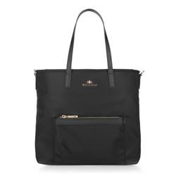 Dámská kabelka, černá, 88-4E-225-1, Obrázek 1