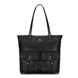 Dámská kabelka, černá, 89-4E-355-1, Obrázek 1