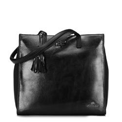 Dámská kabelka, černá, 89-4E-366-1, Obrázek 1