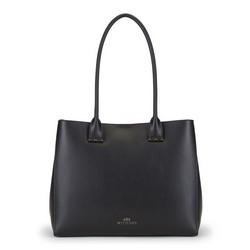 Nákupní taška, černá, 89-4E-409-1, Obrázek 1